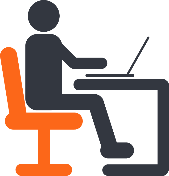 Desk clipart desk job. Transparent png pictures free