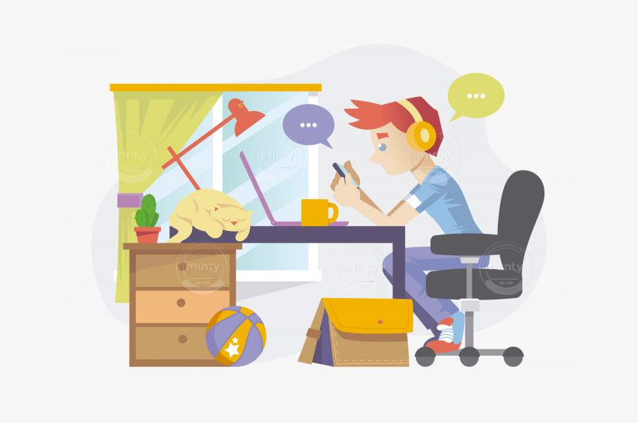 Desk clipart busy desk. Cartoon free cliparts on