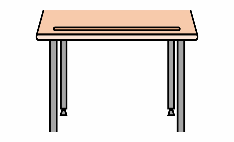 Desk clipart cute desk. Cartoon school free png