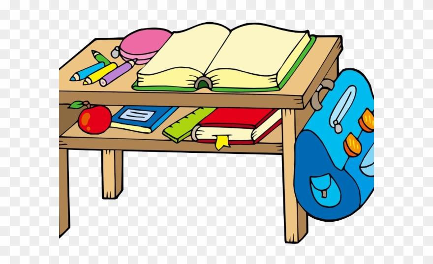 Desk clipart school bench. Png download pinclipart