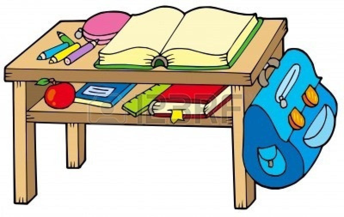 Free download best . Desk clipart classroom full