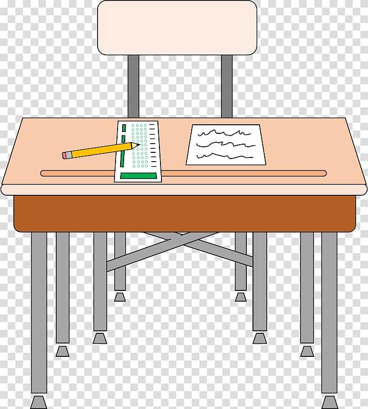 Desk student transparent background. Clipart table class table