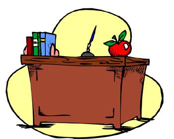 Table free download best. Clipart desk classroom teacher
