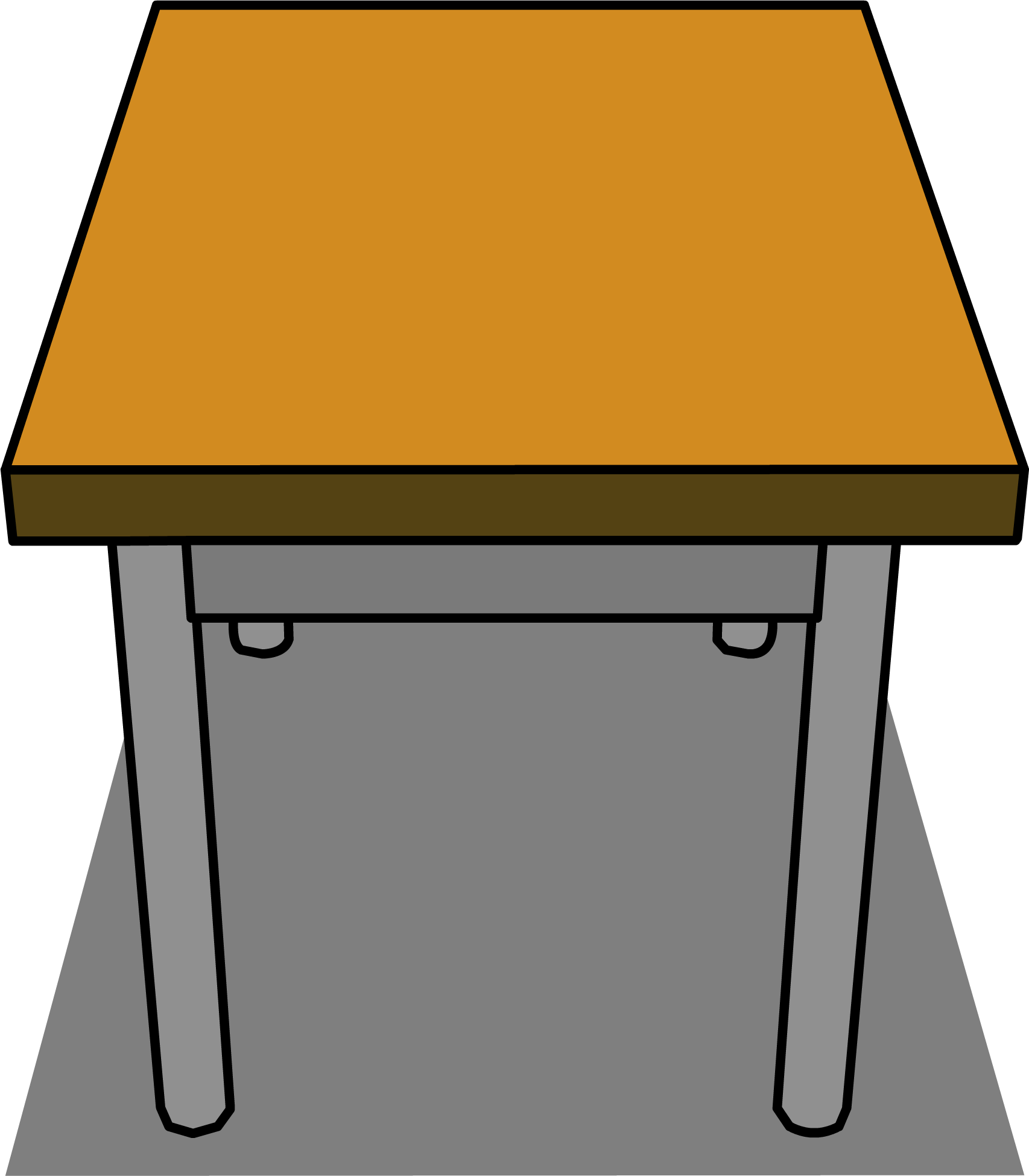 Desk clipart classroom. Image sprite png club