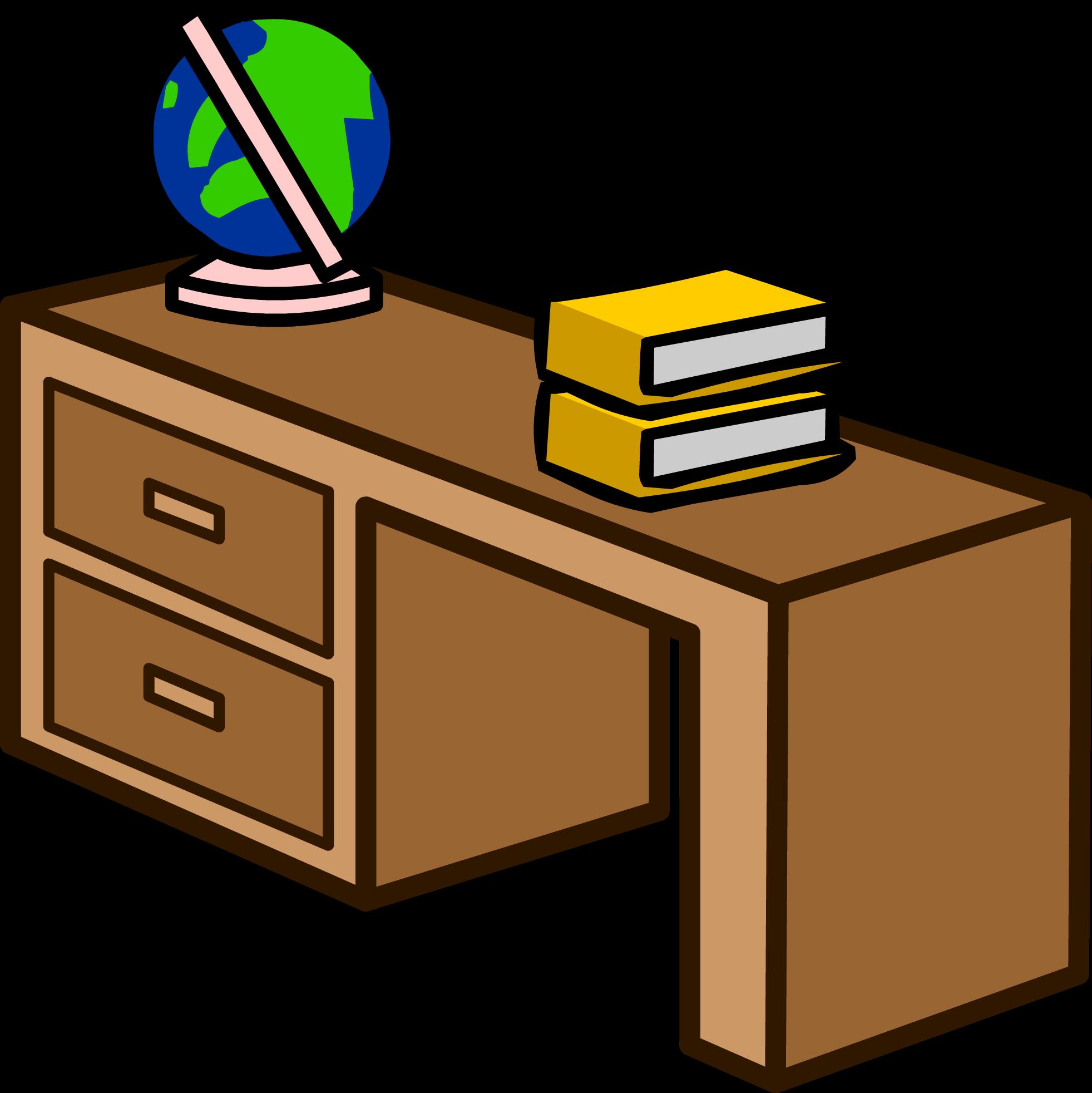 Image student sprite png. Desk clipart desk drawer