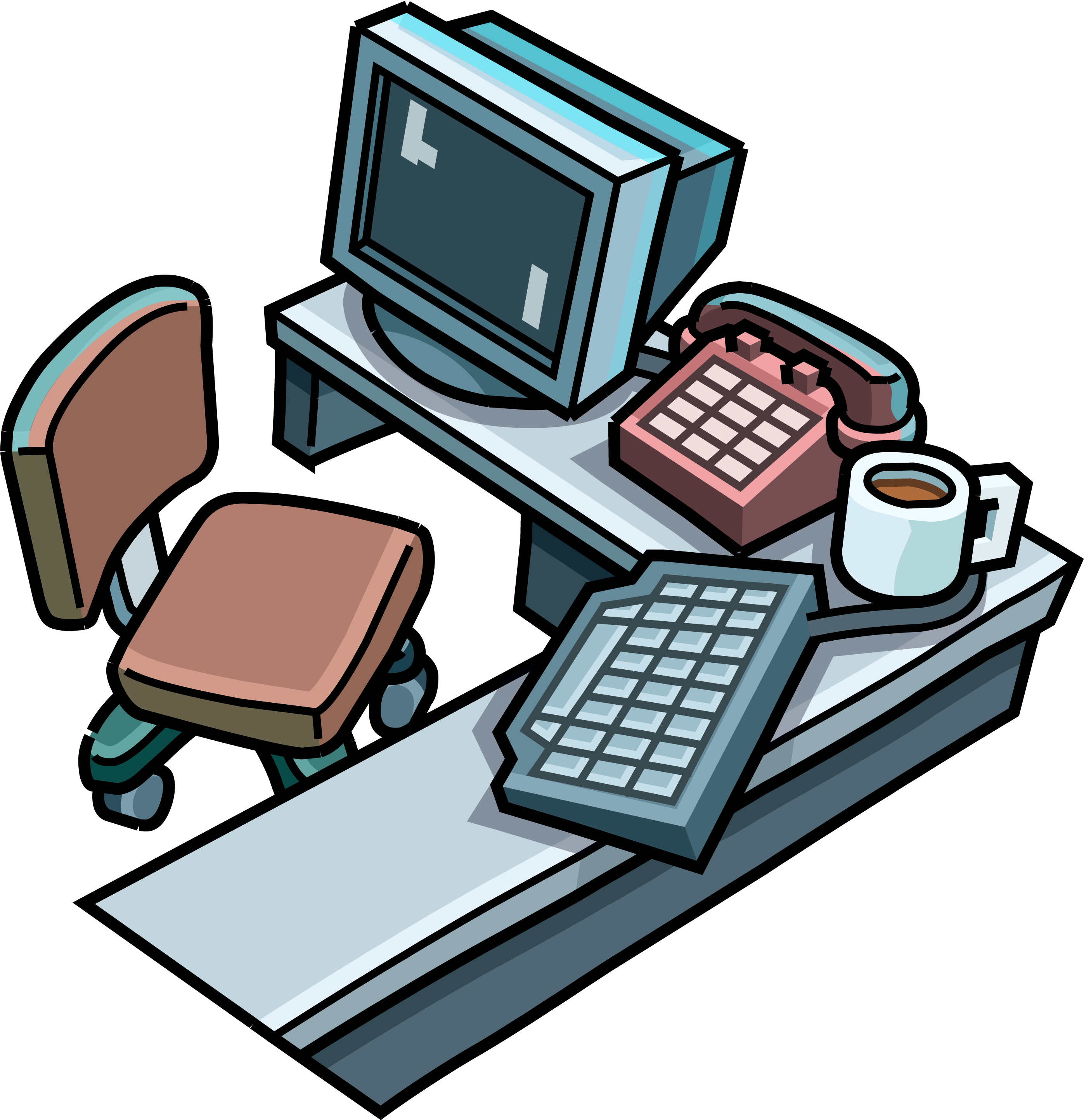 Clipart table club penguin. Codes cheats and secrets