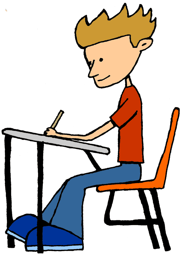Tall clipart student. Sitting png computer table