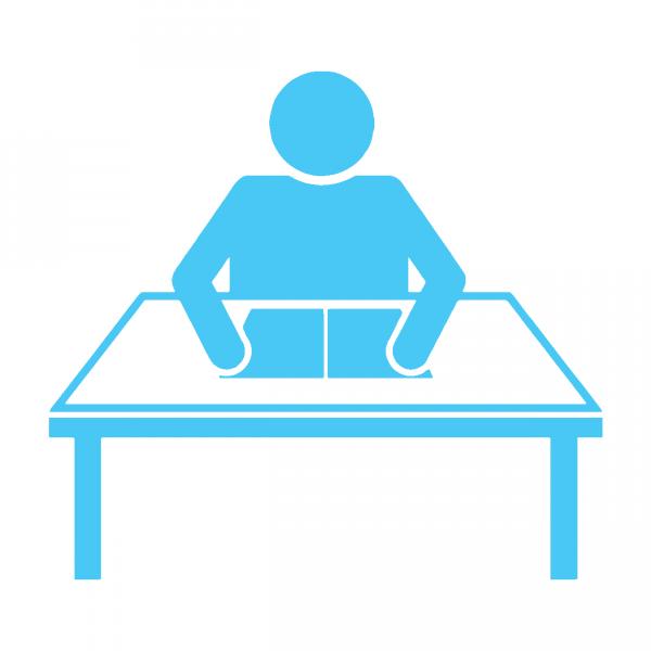 Clipart desk college student. Advocacy seminars scholars at