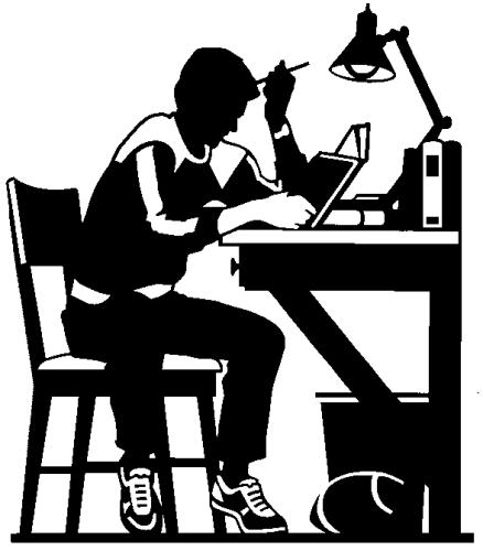 clipartlook. Clipart desk college student