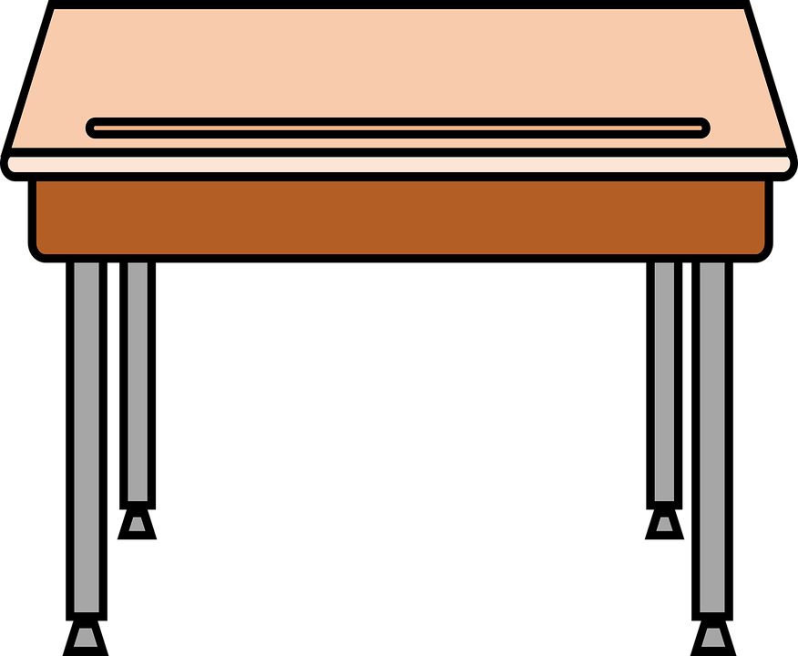 Desk clipart classroom full. Richie glenbrae school