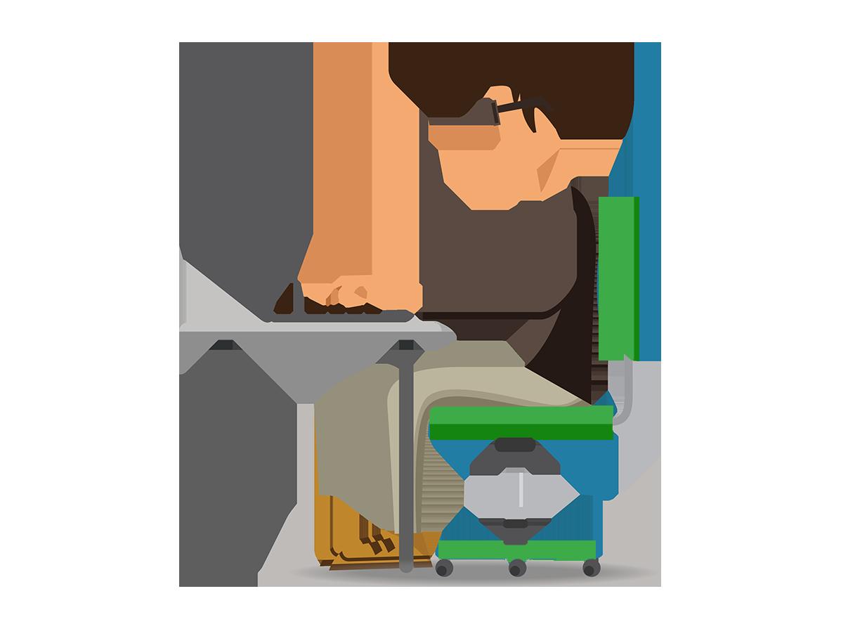 Desk clipart desk job. Laptop computer mouse keyboard