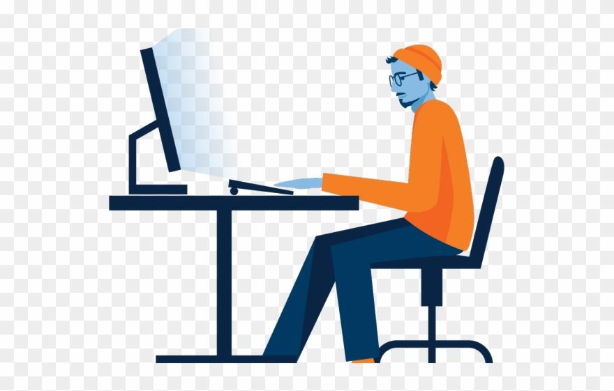 Clipart desk desk job. Png download pinclipart