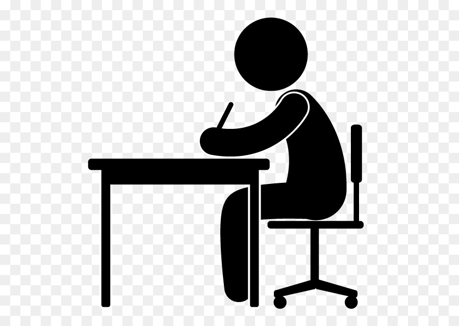 White background office transparent. Clipart desk desk job
