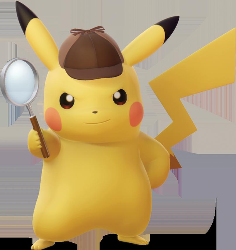 Image pikachu png pok. Detective clipart animation