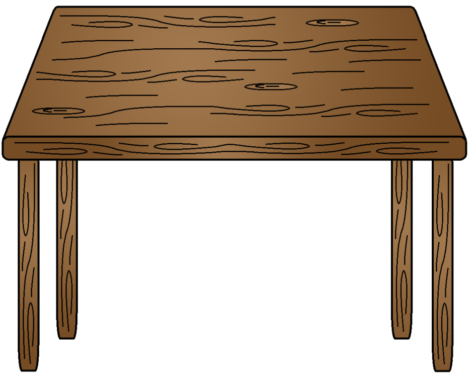 Outstanding kitchen table dining. Furniture clipart vector