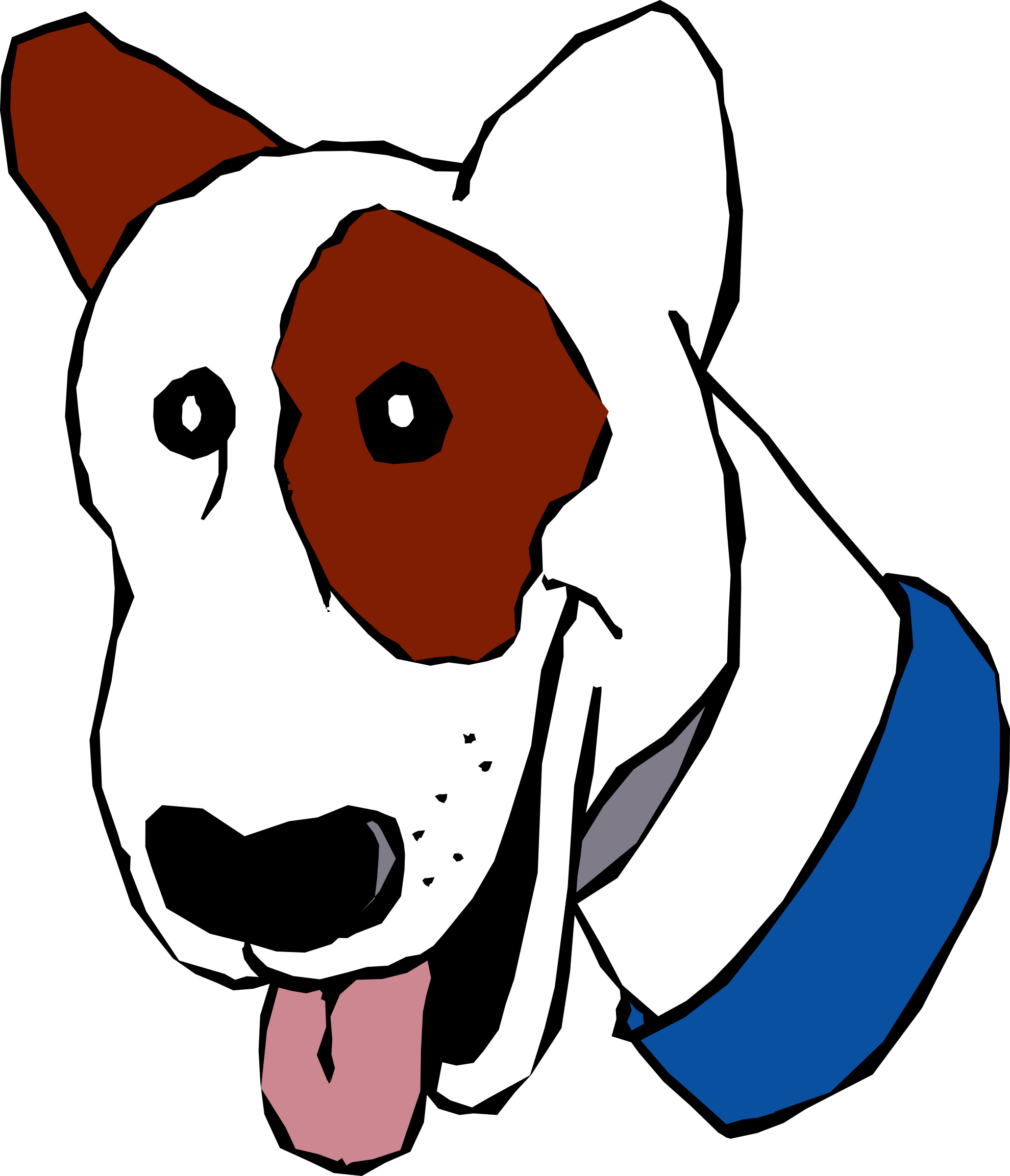 Free images cartoon download. Pet clipart basic dog