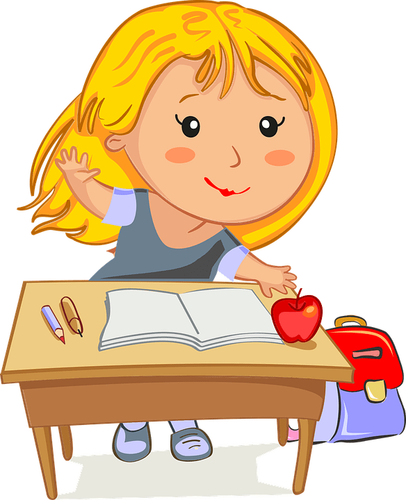 back to school. Tired clipart homework
