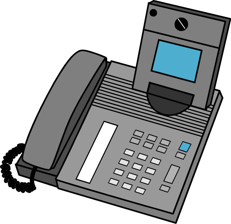 Telephone free stock photo. Electronics clipart digital device