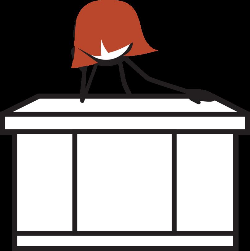 Exercise norah colvin stickfigureswomanweb. Clipart desk independently