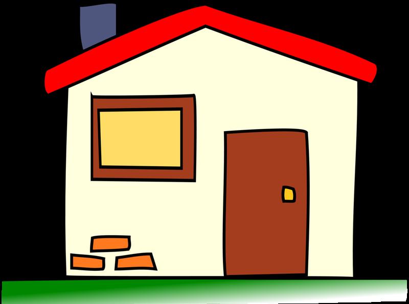 Pin by i t. House clipart cartoon