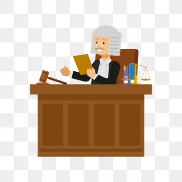 Png vector psd and. Judge clipart cute