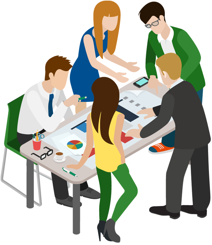 collection of people. Working clipart business person