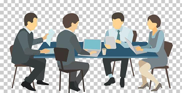 Illustration png business . Clipart desk meeting