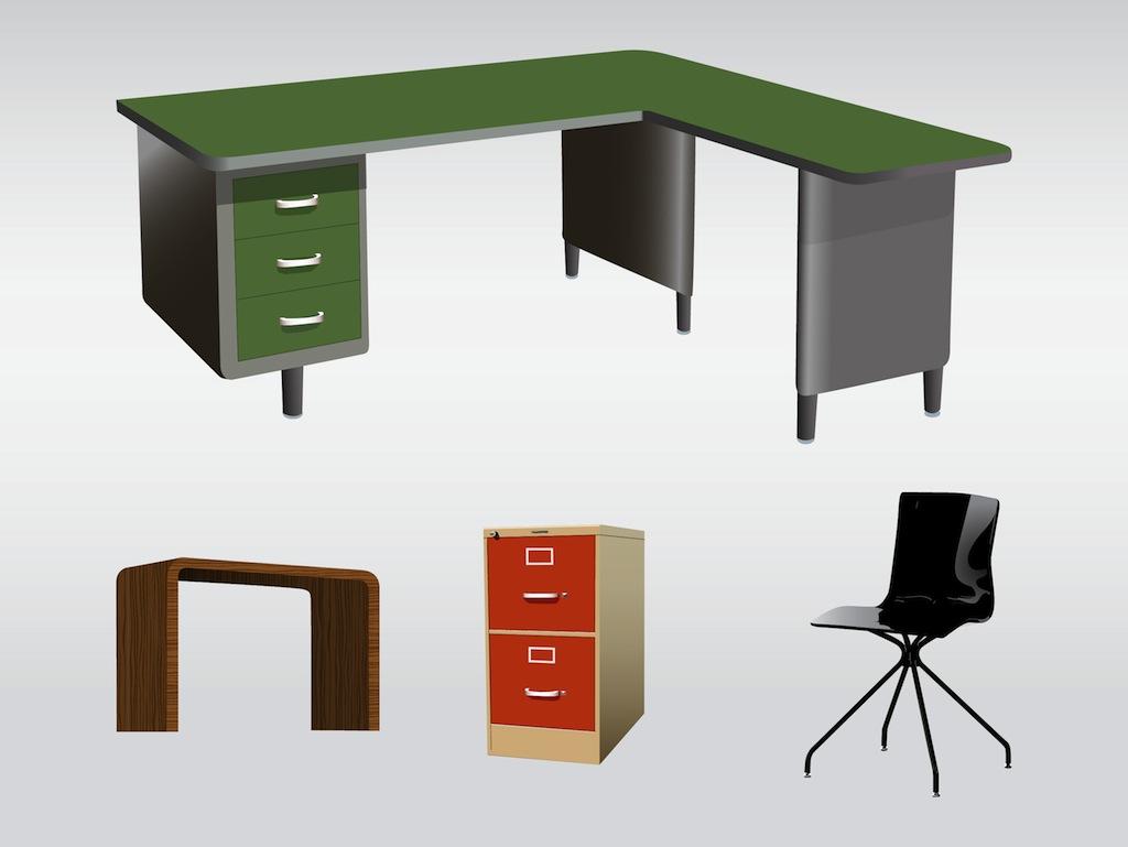 Clipart desk office furniture. Free cliparts download clip