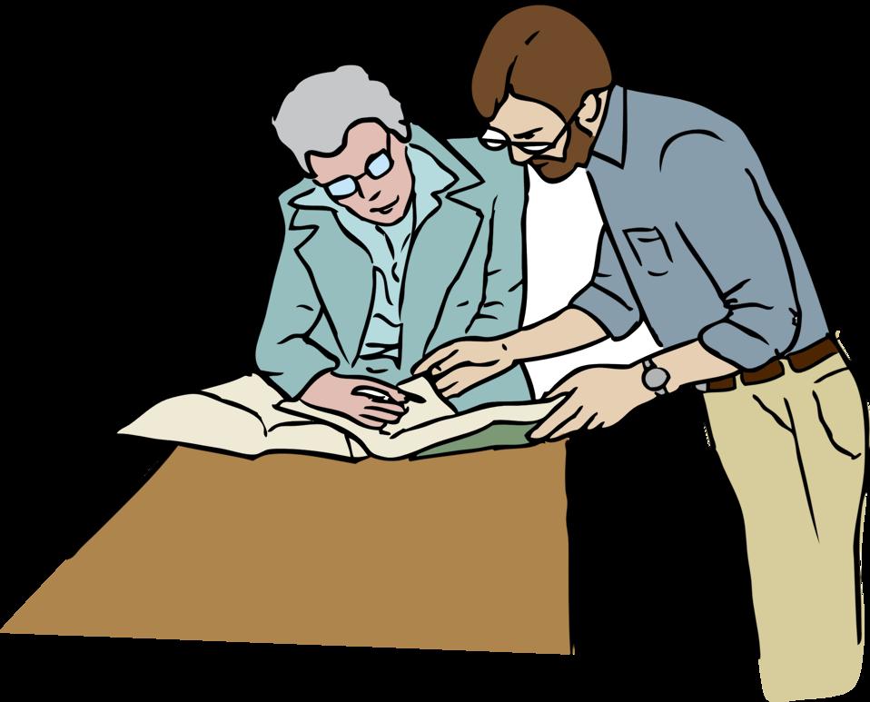 Desk clipart person. Public domain clip art