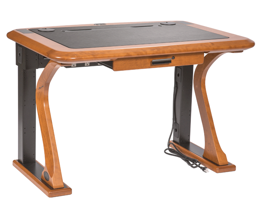 Artistic computer petite caretta. Clipart desk pink desk