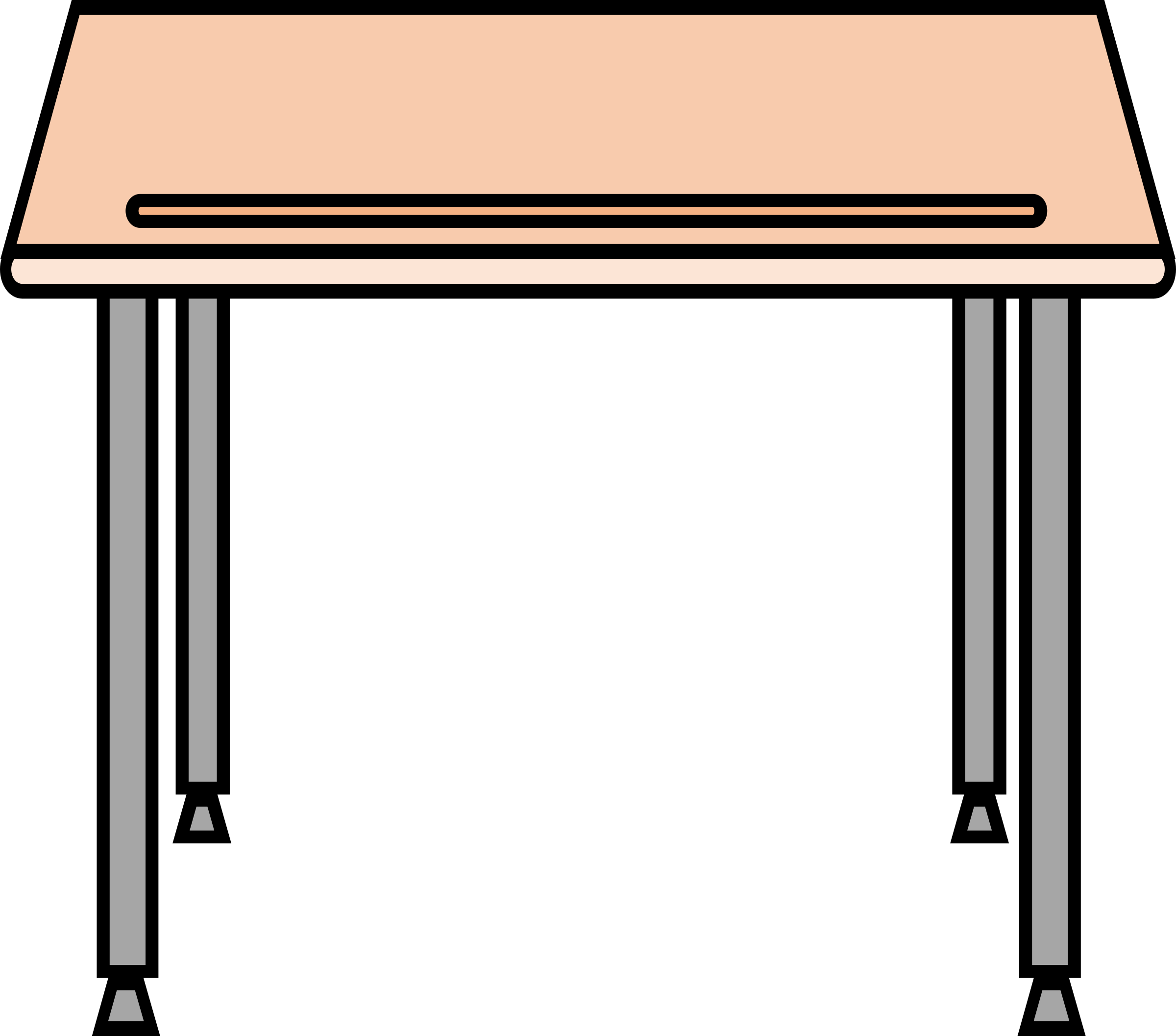 Simple school icons png. Desk clipart classroom