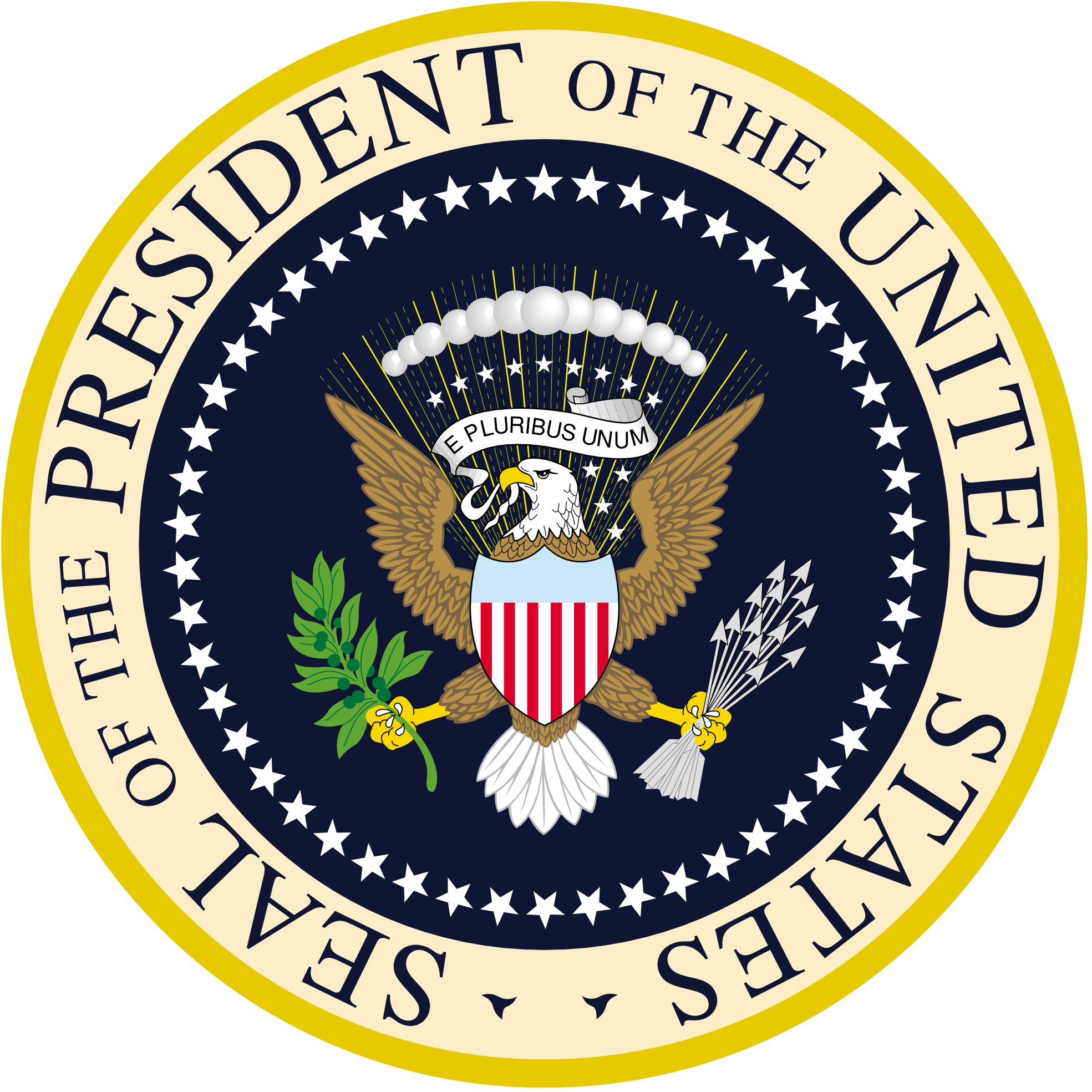 President of the united. Eagle clipart passport