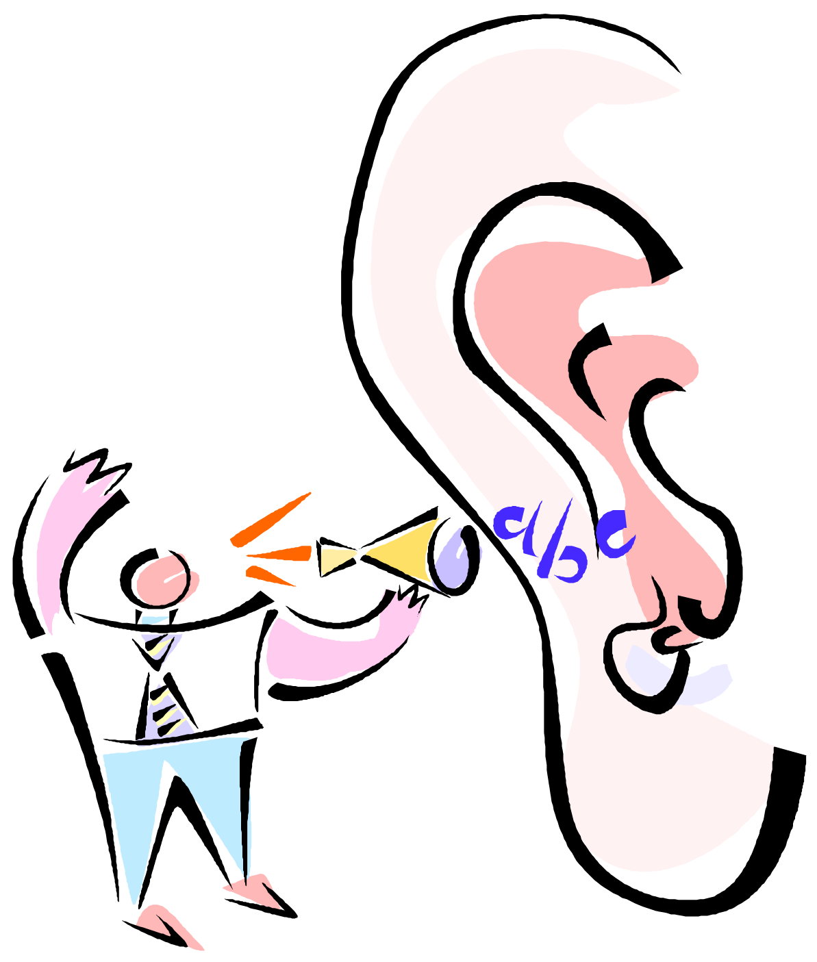 Clipart ear empathetic listening. The thin line between
