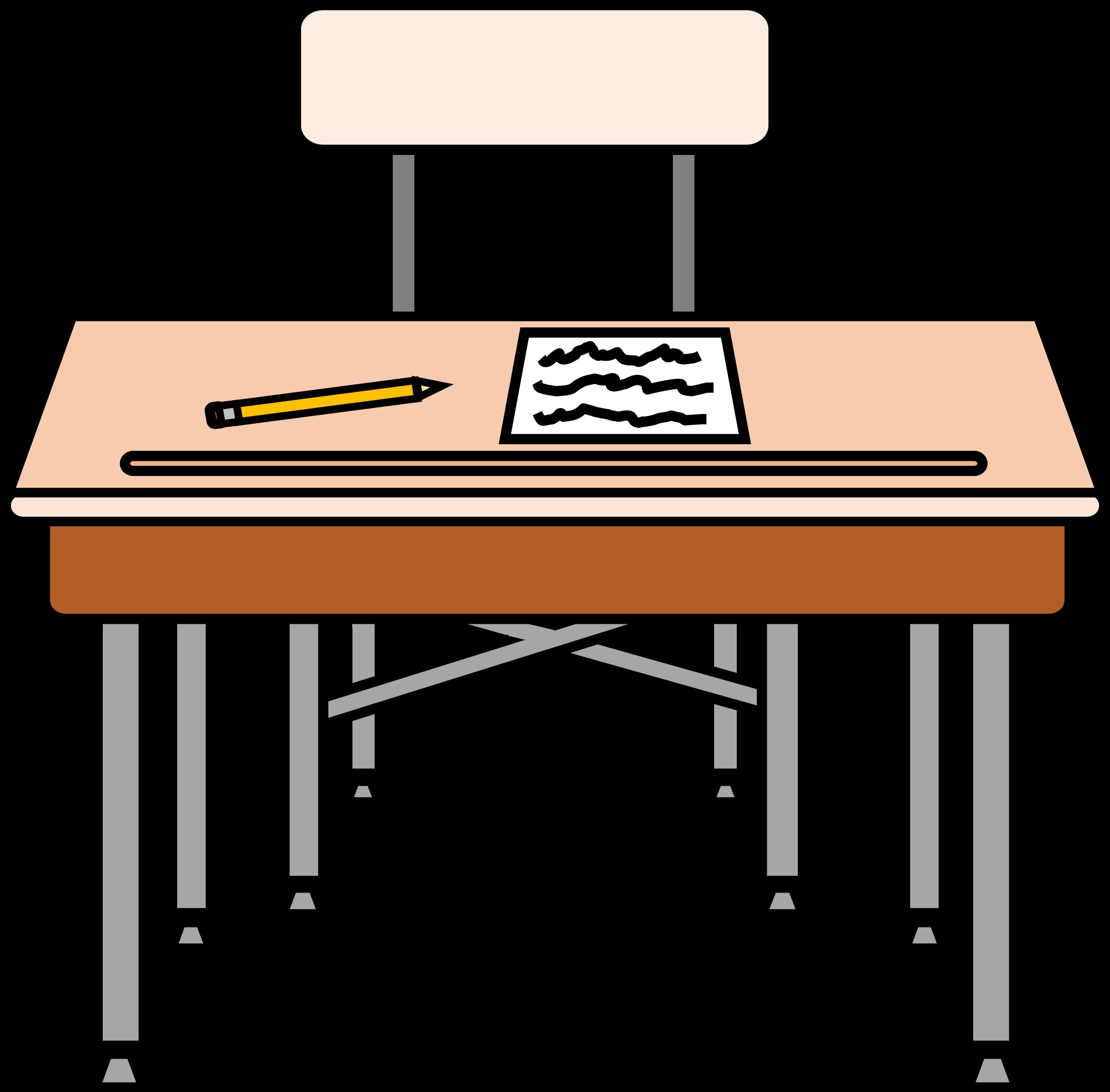Desk clipart class.  collection of desks