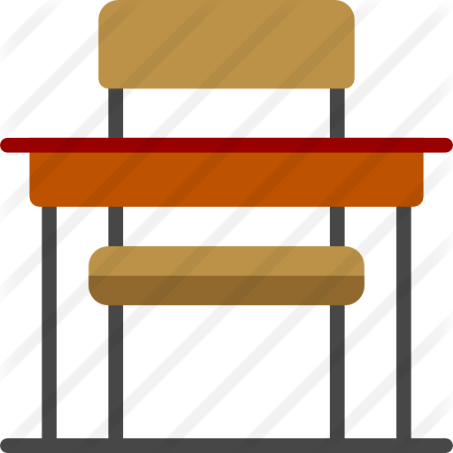 Desk clipart school bench. Table chair furniture transparent