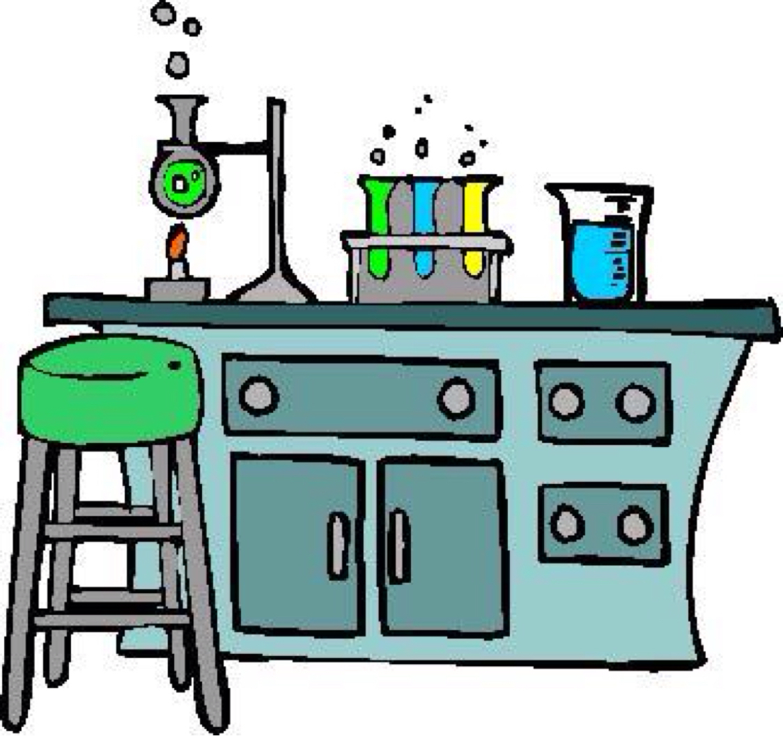 Desk clipart science. Room to print free