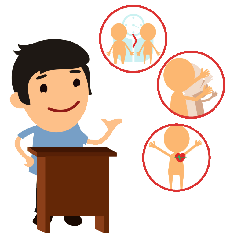 Standing vs sitting standup. Healthy clipart childrens health