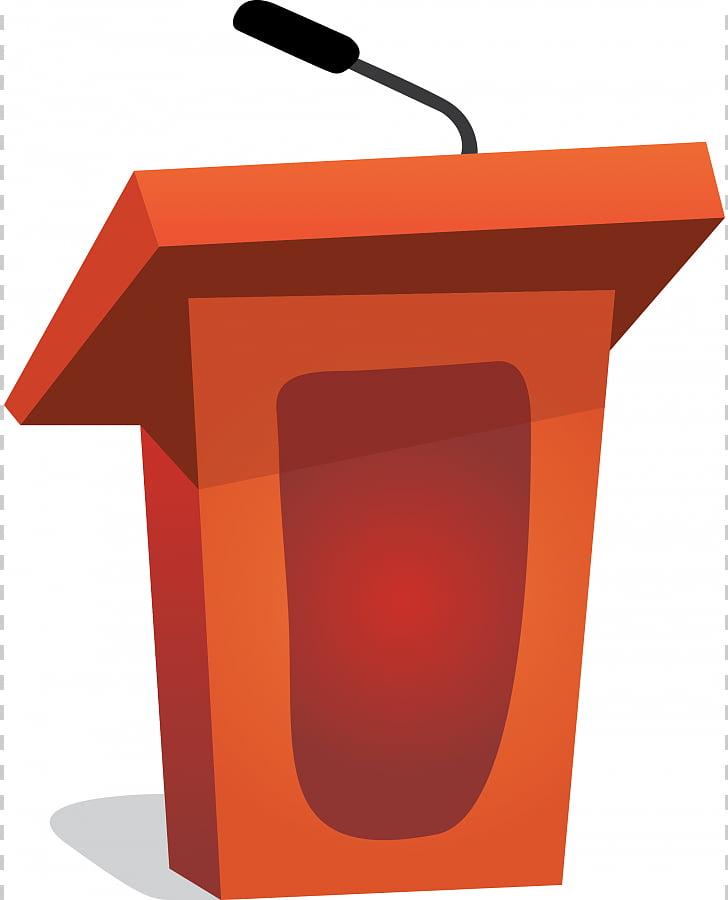 Podium microphone public speaking. Clipart desk speech
