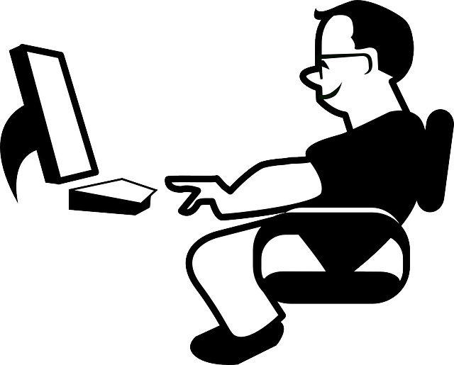 Workplace posture for office. Exercise clipart pilates