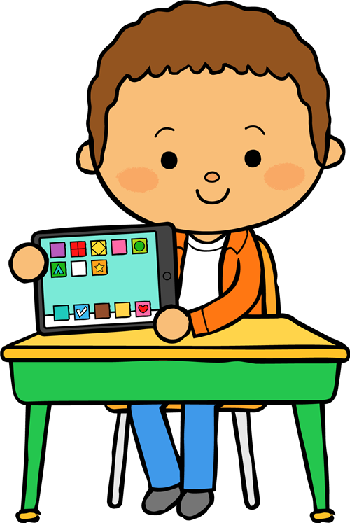 Desk clipart student technology. Mccloskey miss tech