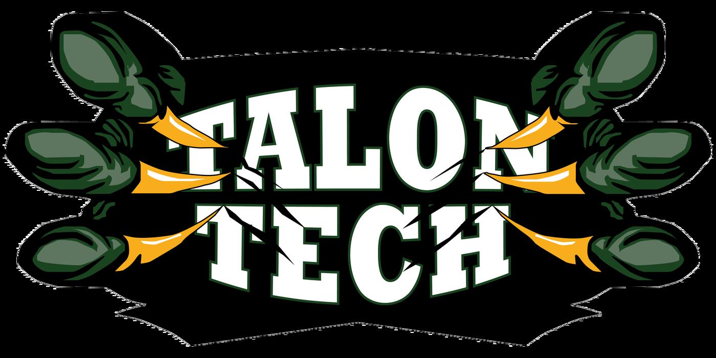 Desk clipart student technology. Talon tech students leading