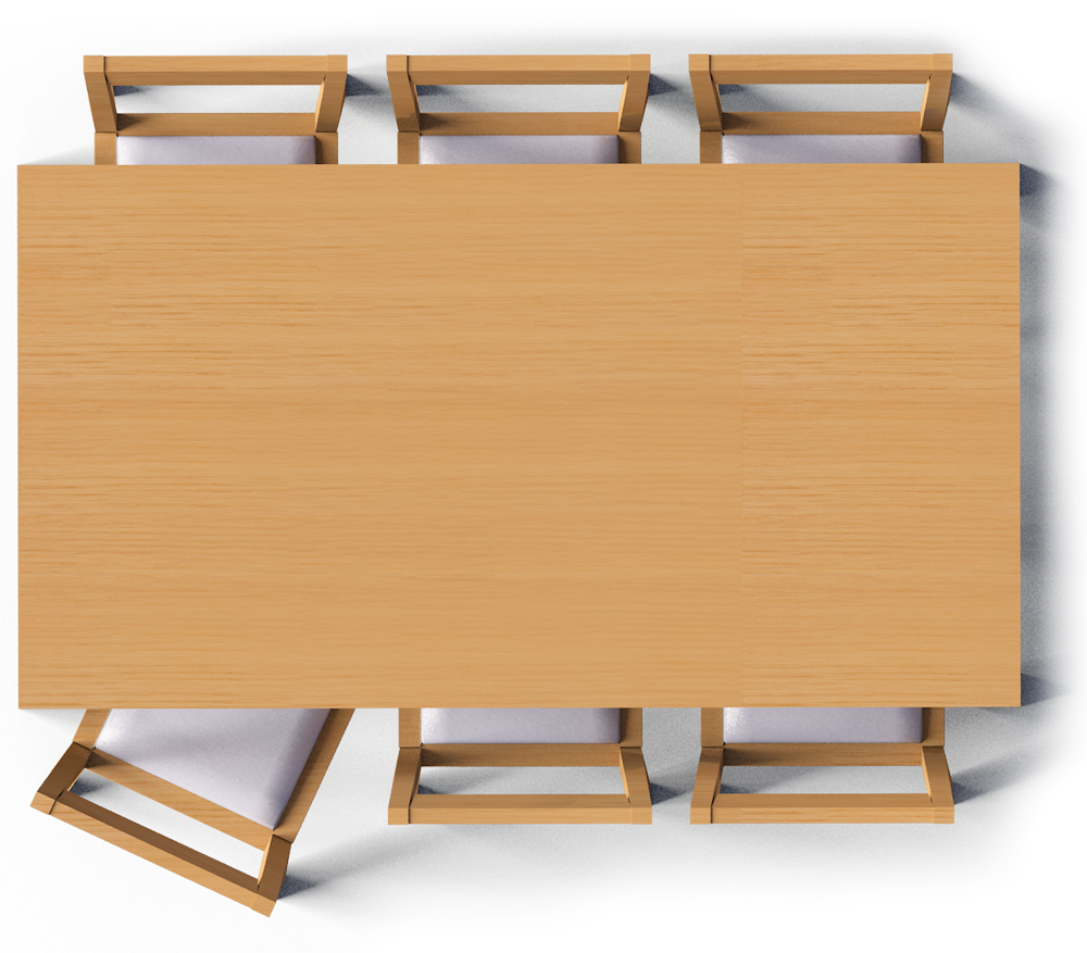 Engaging table top view. Desk clipart tabletop