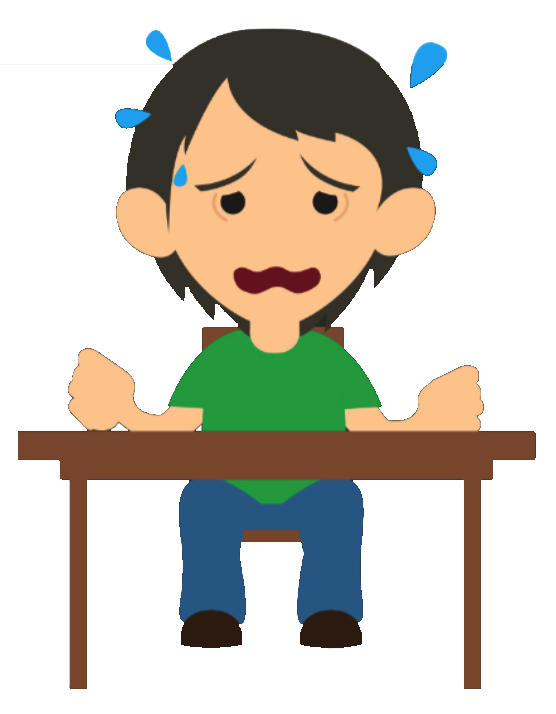 Stress clipart desk. Divide between boys girls