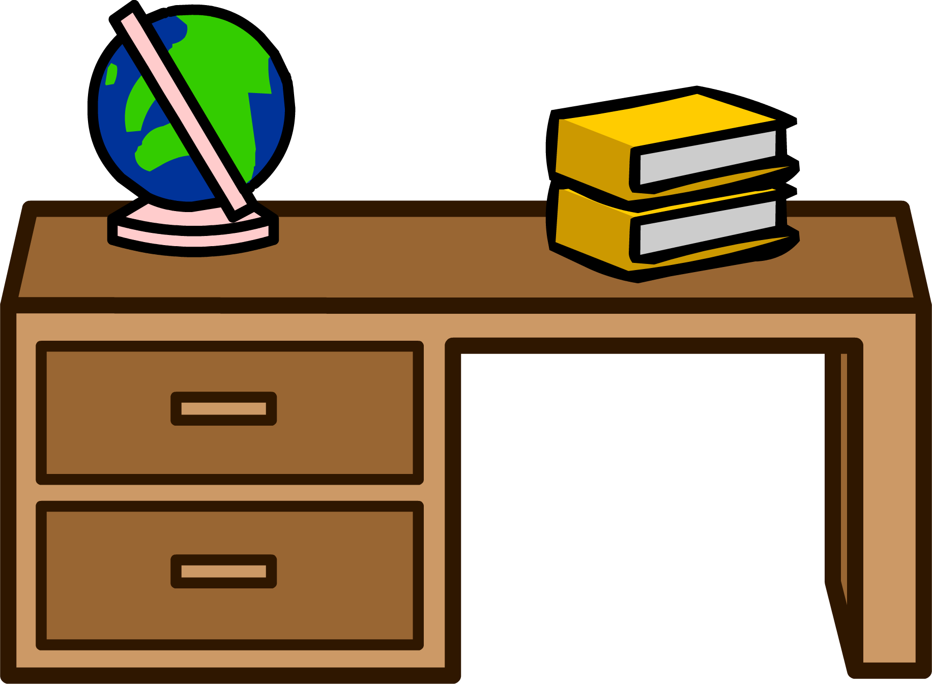 Teacher table free download. Desk clipart desk drawer
