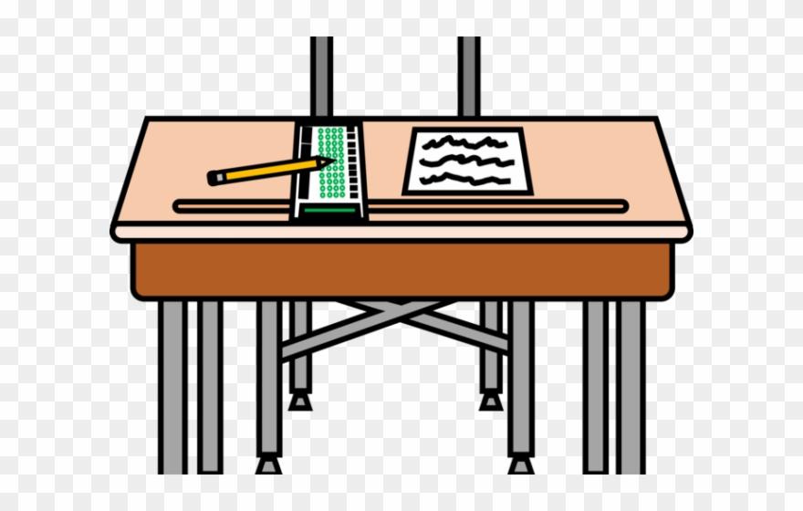 Clipart desk testing. Standardized test png download