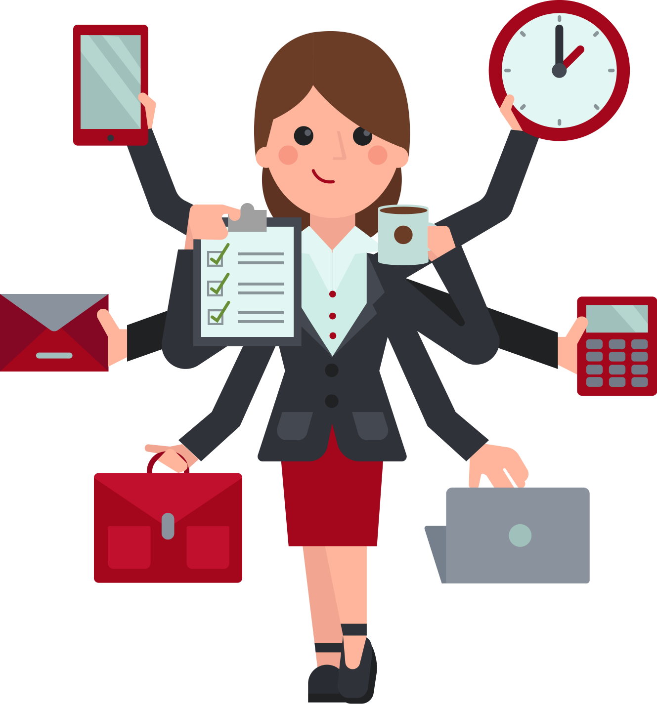 collection of administrative. Employee clipart work clipart