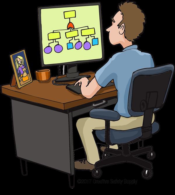 Fault tree analysis creative. Desk clipart unorganized