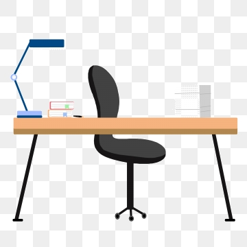 Clipart desk vector. Work table png psd