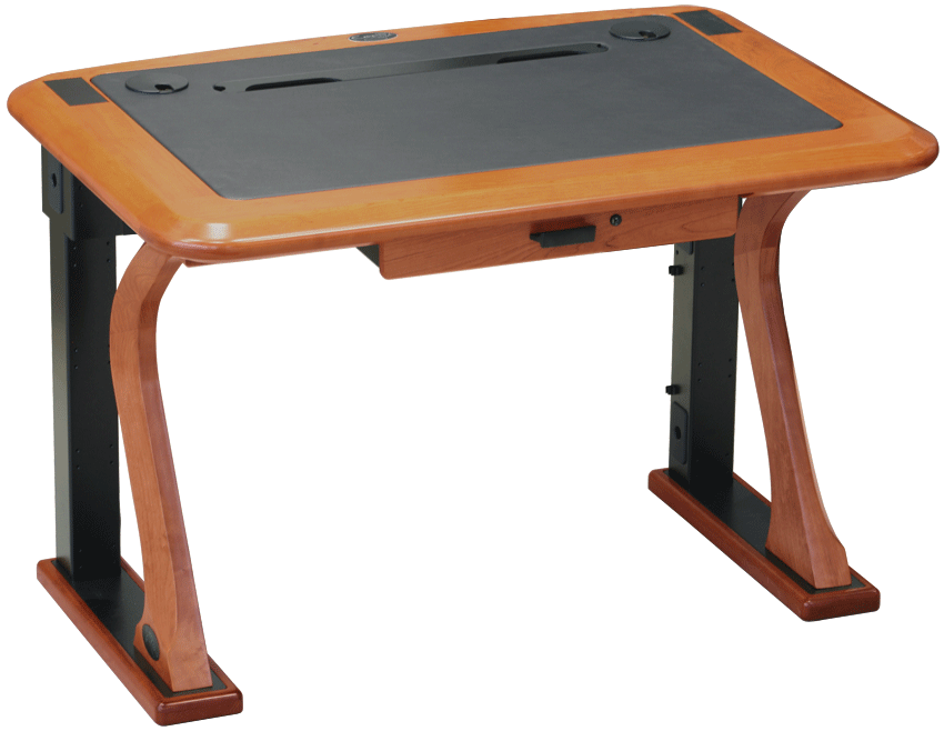 Artistic computer petite caretta. Desk clipart wood desk