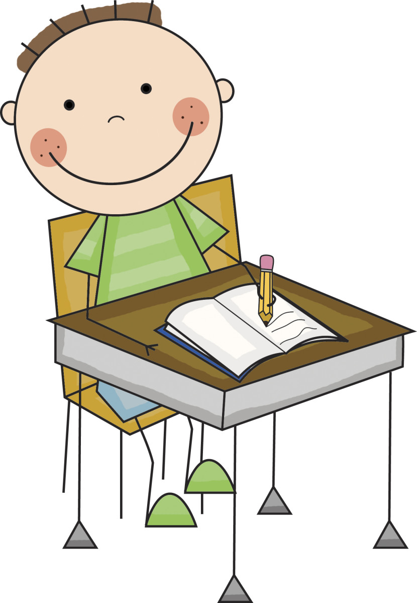 Free student cliparts download. Working clipart writing